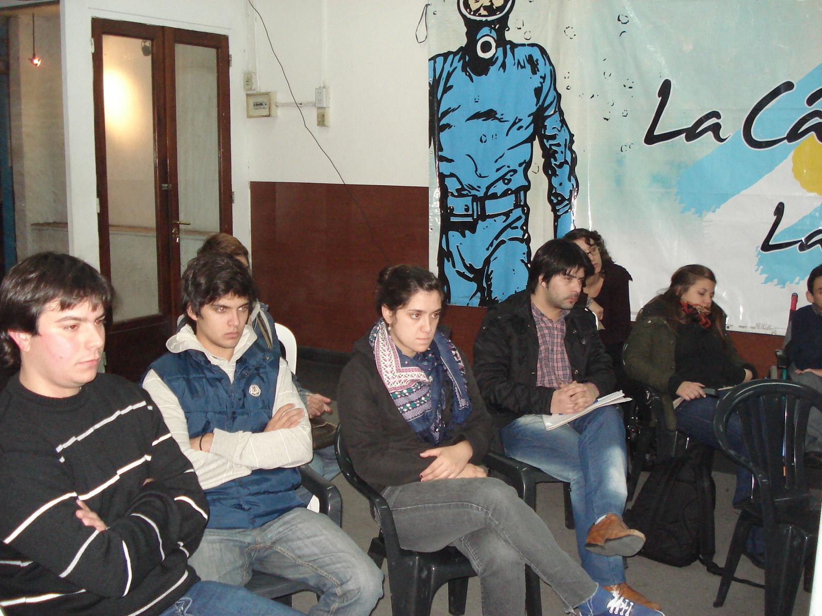 Charla de Primeros Auxilios en La Plata