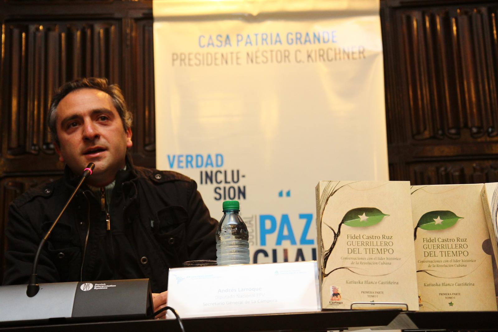 """Presentación del libro """"Fidel Castro Ruz: Guerrillero del tiempo"""""""