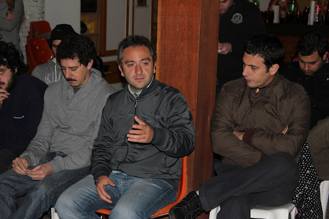 Plenario de la Quinta Sección Electoral en Rauch