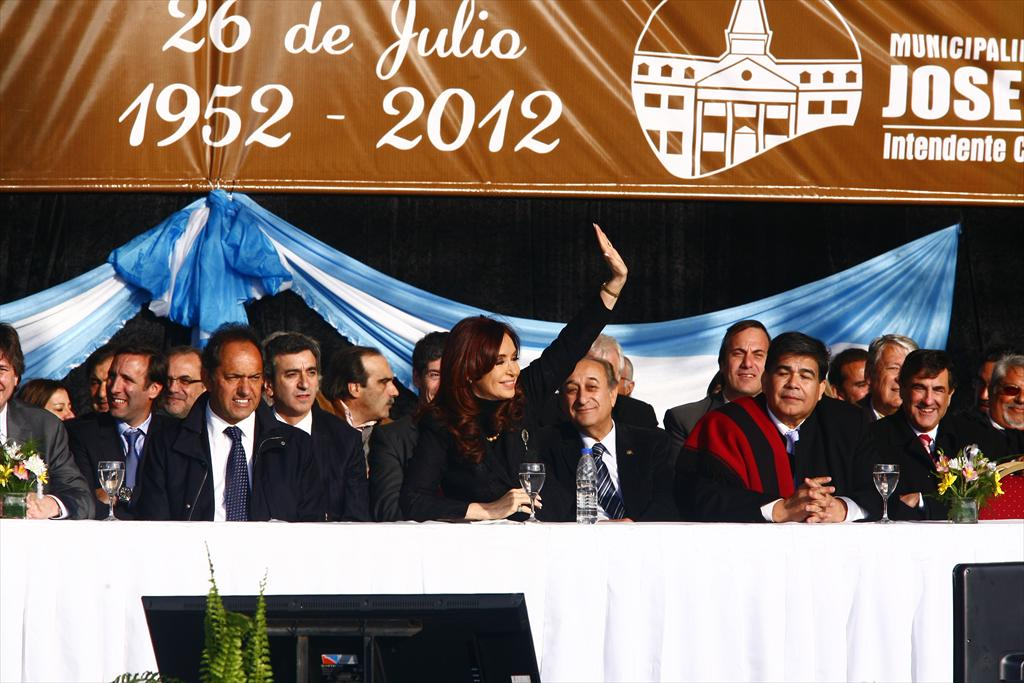 Homenaje a Eva Perón en José C. Paz