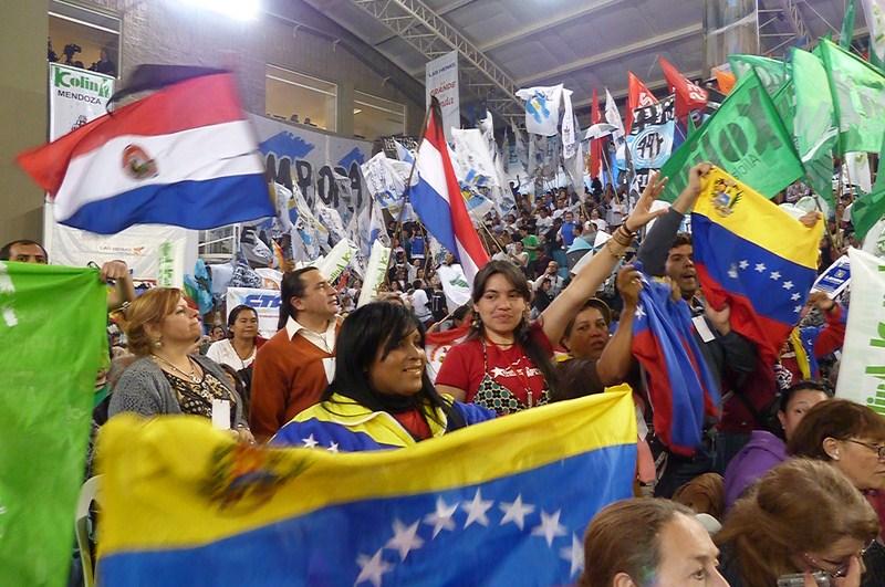 Cumbre social del Mercosur