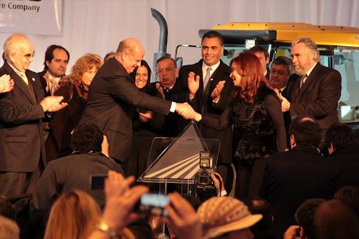 La Cámpora junto a Cristina en General Rodríguez