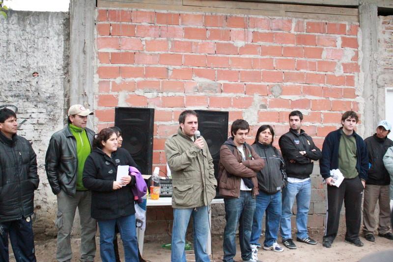 Jornada Solidaria en la villa 1-11-14
