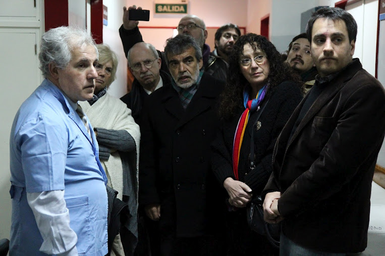 Cabandié recorrió el Hospital infantil Dr. Ricardo Gutiérrez