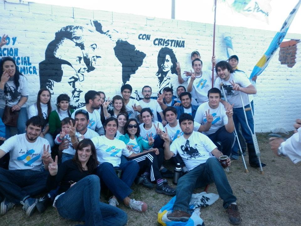 Mural homenaje Perón