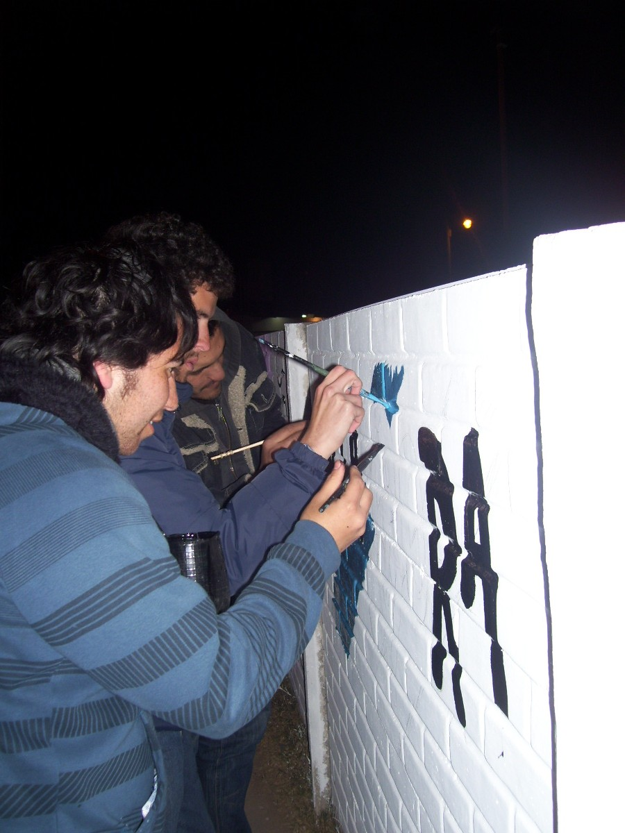 Mural de Integra en Florencio Varela