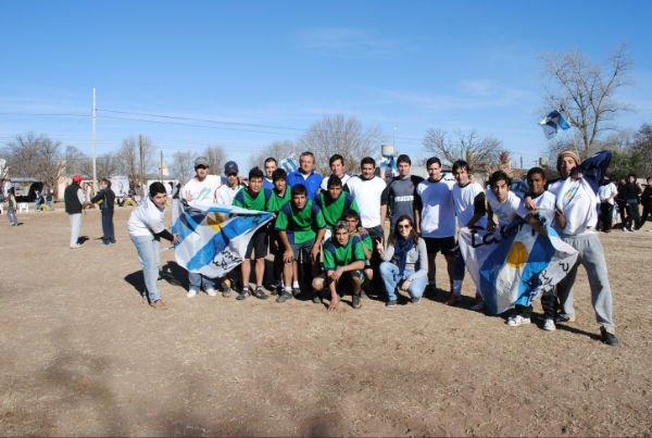 Victorica: futbol solidario