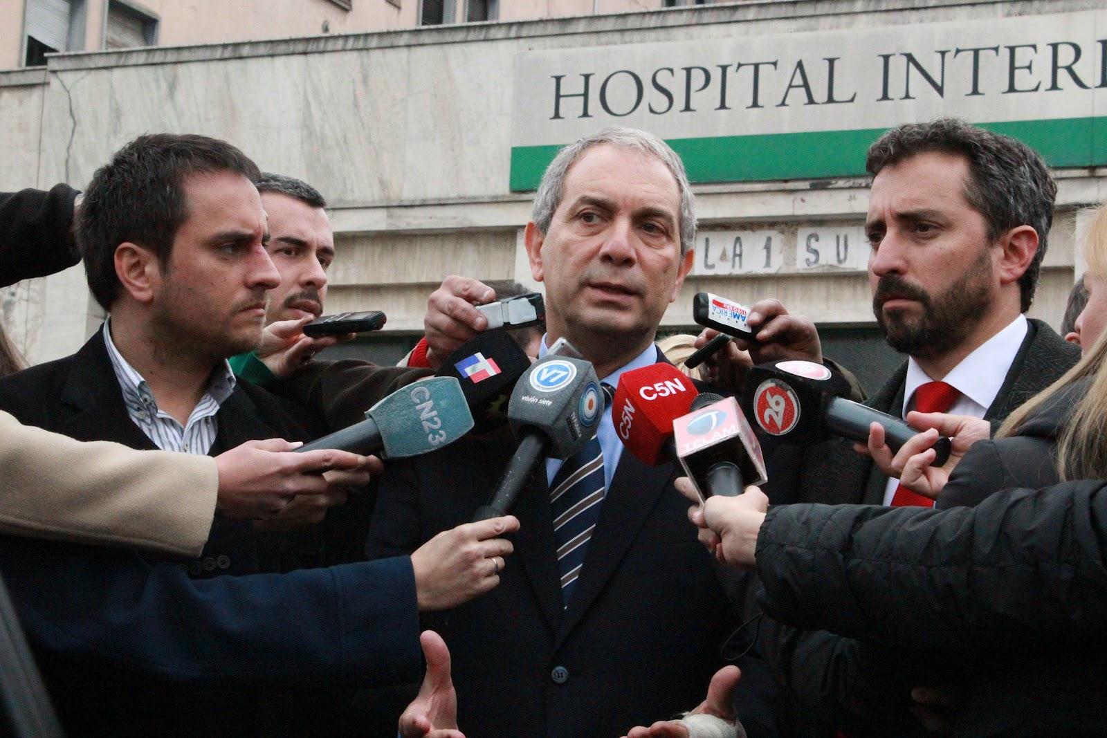 Cabandié, Fresneda y Alak recorrieron el Hospital Borda