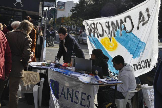 Jornada militante en Vicente López