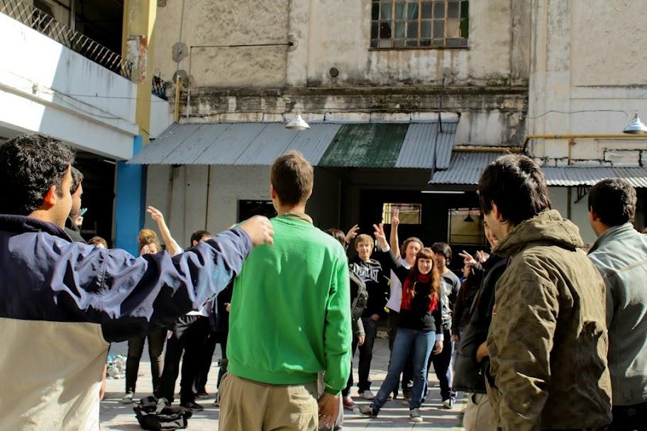 Jornada solidaria de Secundarios en La Matanza