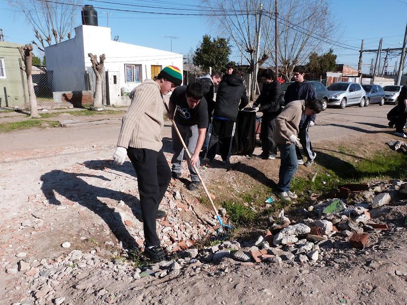 Jornada militante en La Plata