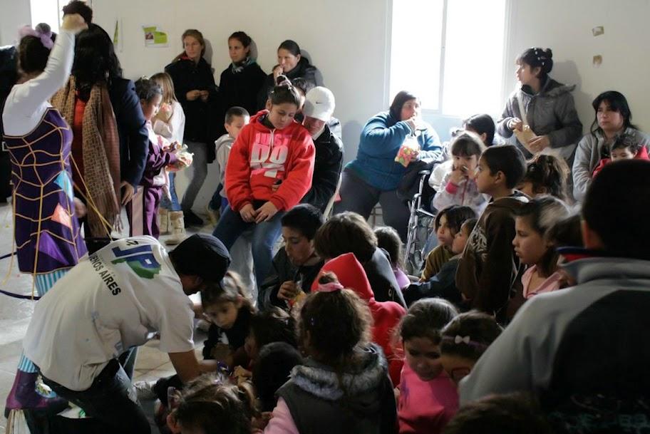 Festejo del Día del Niño en Ezeiza