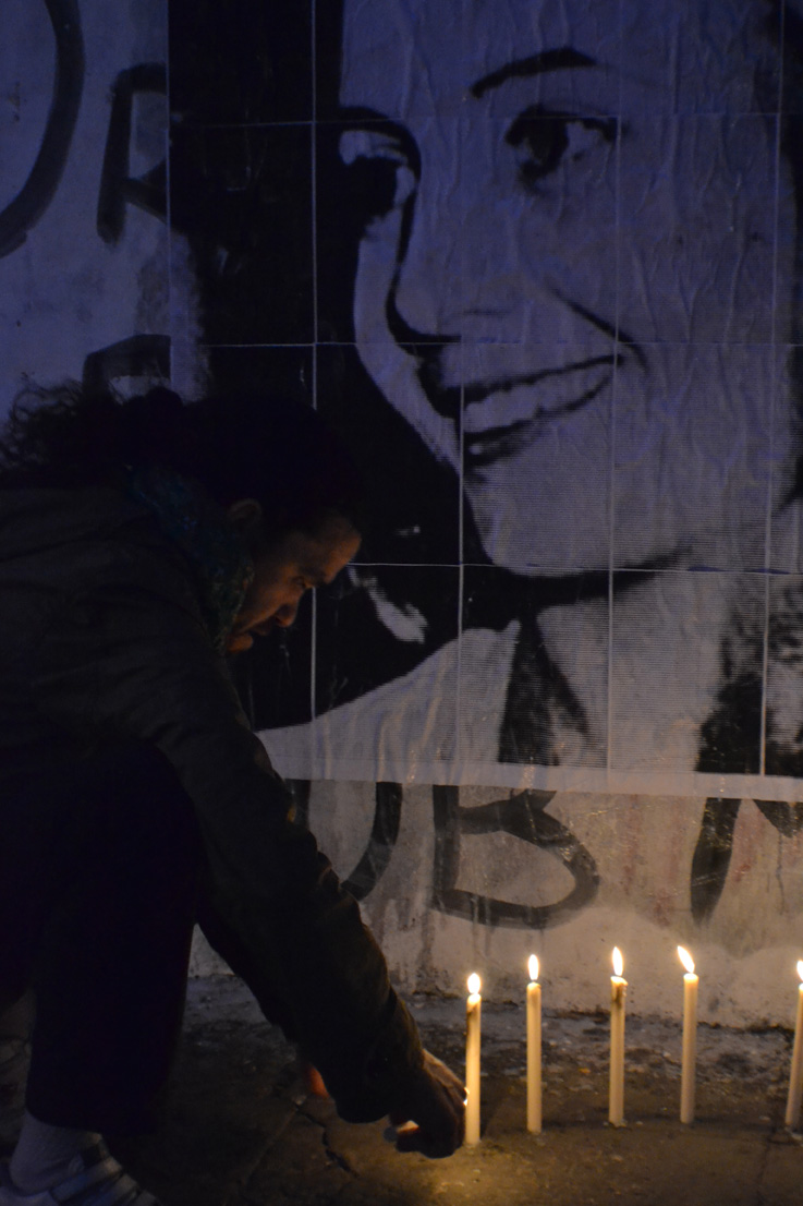 Homenaje a Evita en la Comuna 7