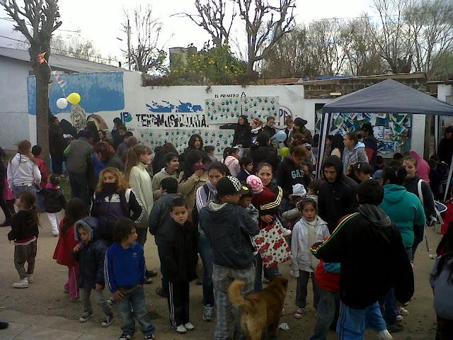 Festejando el día del niño en Quilmes