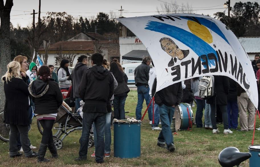 Jornada militante en San Vicente
