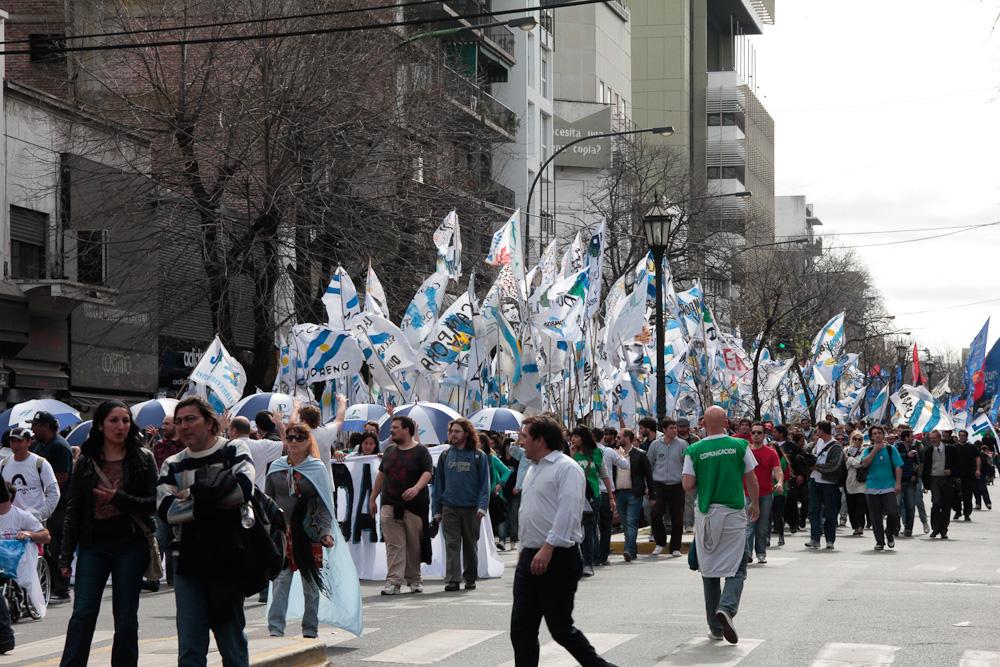 Movilización por La noche de los lápices en La Plata