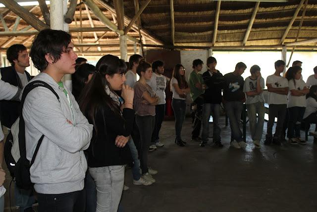 Plenario del Frente de Secundarios en Ezeiza