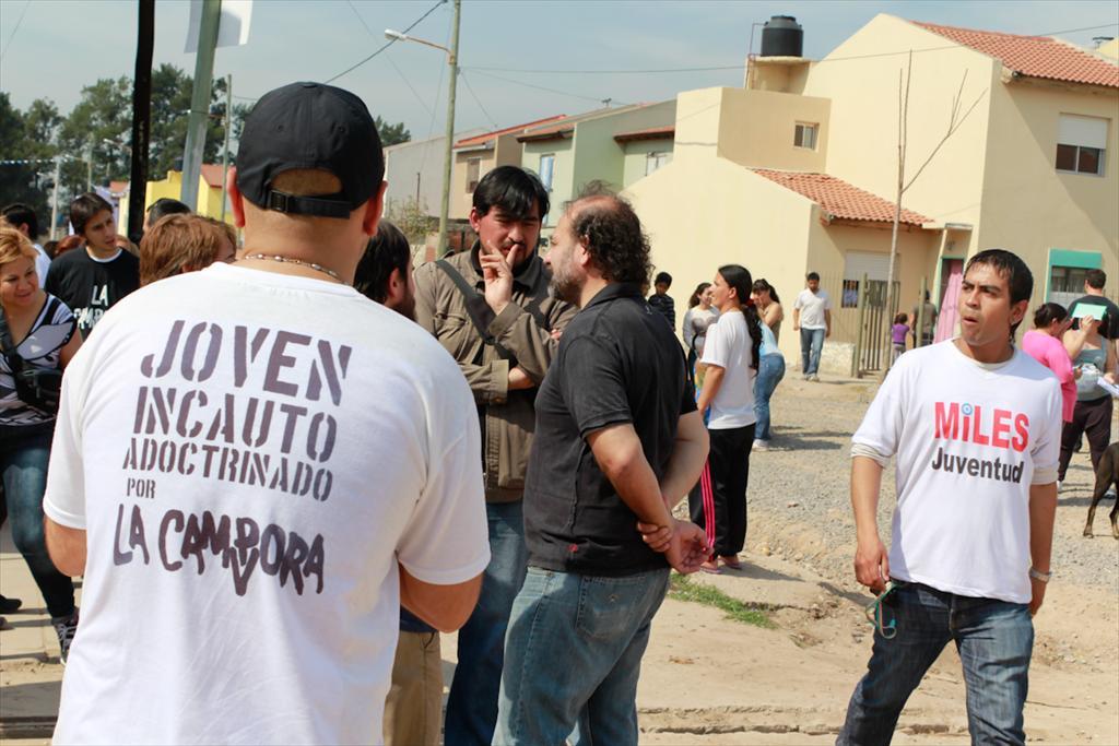 Jornada militante en Villa Palito, La Matanza
