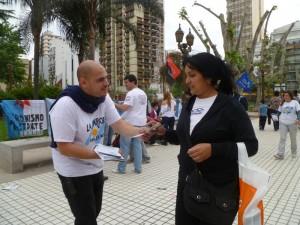 Volanteadas en Buenos Aires: Democracia o corporaciones
