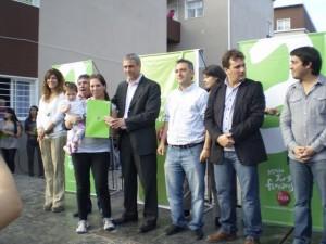 La Cámpora presente en la entrega de viviendas en Avellaneda
