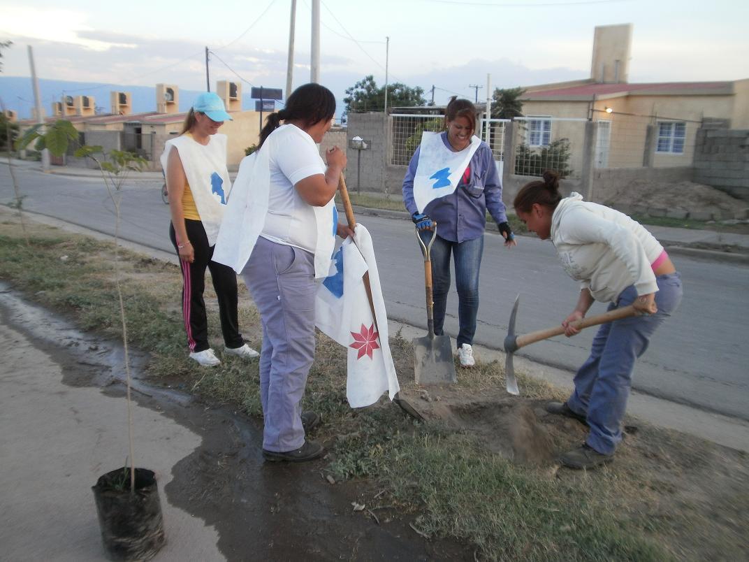 Barrio Luis Franco jornada solidaria