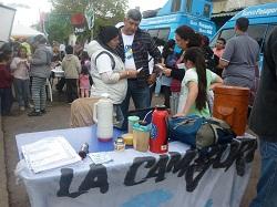 Jornada solidaria de comunidad y familia en Lanús