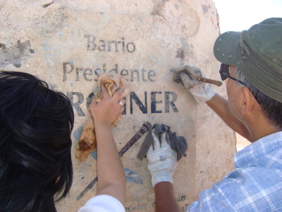 Homenaje en San Juan