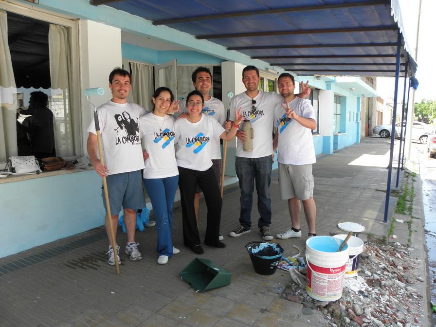 Jornada solidaria en Venado Tuerto
