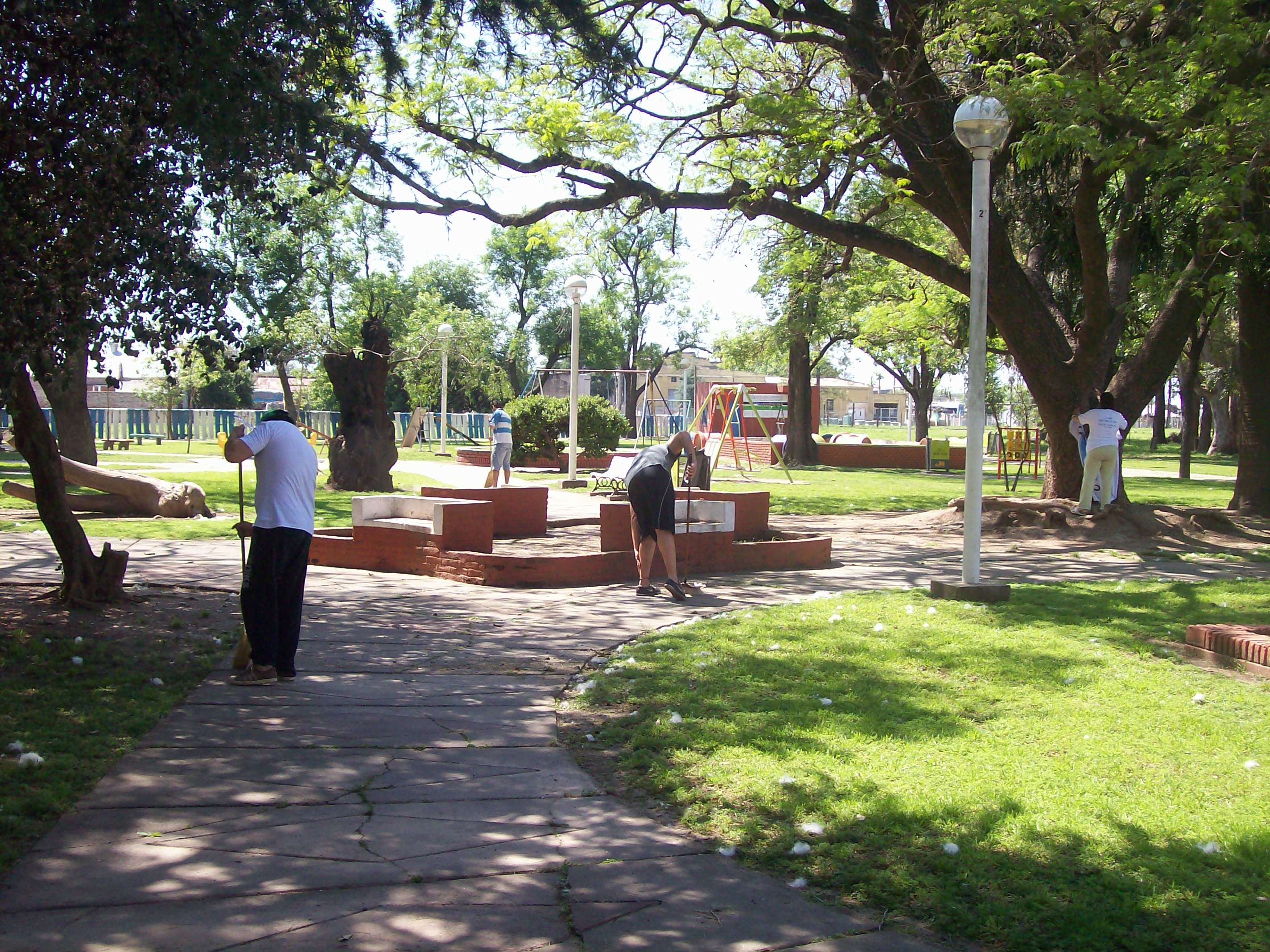 Galvez, jornada solidaria