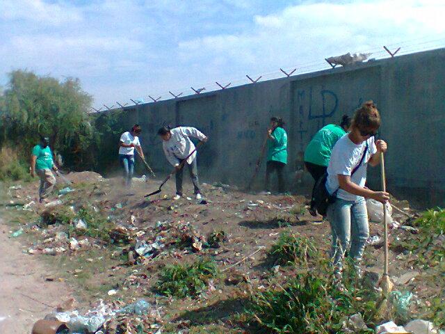 Jornada de limpieza en La Banda