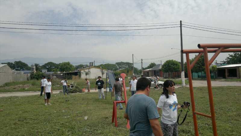 Famailla Jornada en el Barrio 120  viviendas