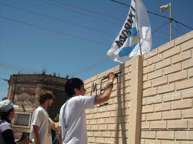 Plenario del Frente de Secundarios en Azul