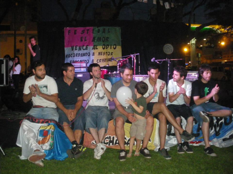 El amor venció al odio en Núñez