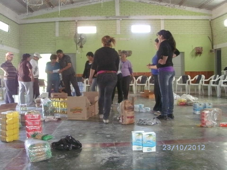 San Juan: Jornada Solidaria en Sarmiento