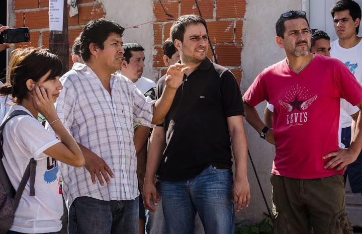 Juan Cabandié recorrió la Villa Rodrigo Bueno