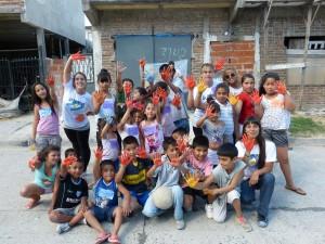 La Cámpora Avellaneda realizó una jornada por los Derechos del Niño en Villa Domínico