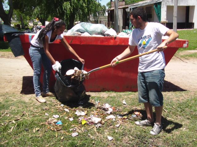 Jornada militante en Navarro
