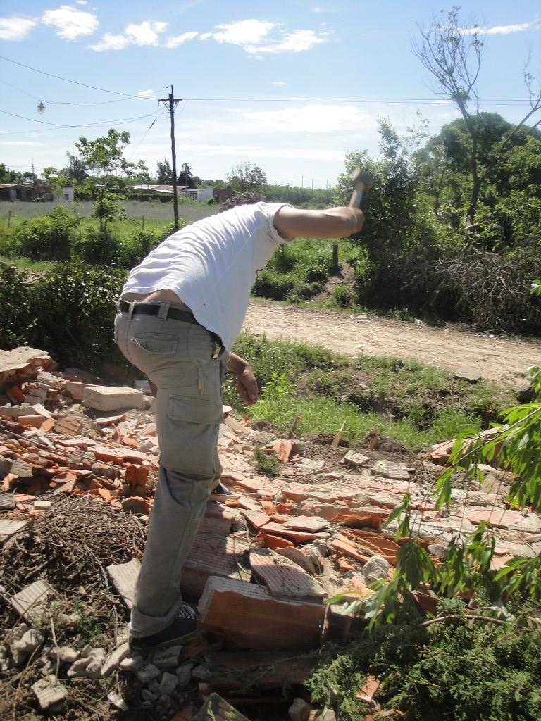 Colaborando con los vecinos de Río Tala