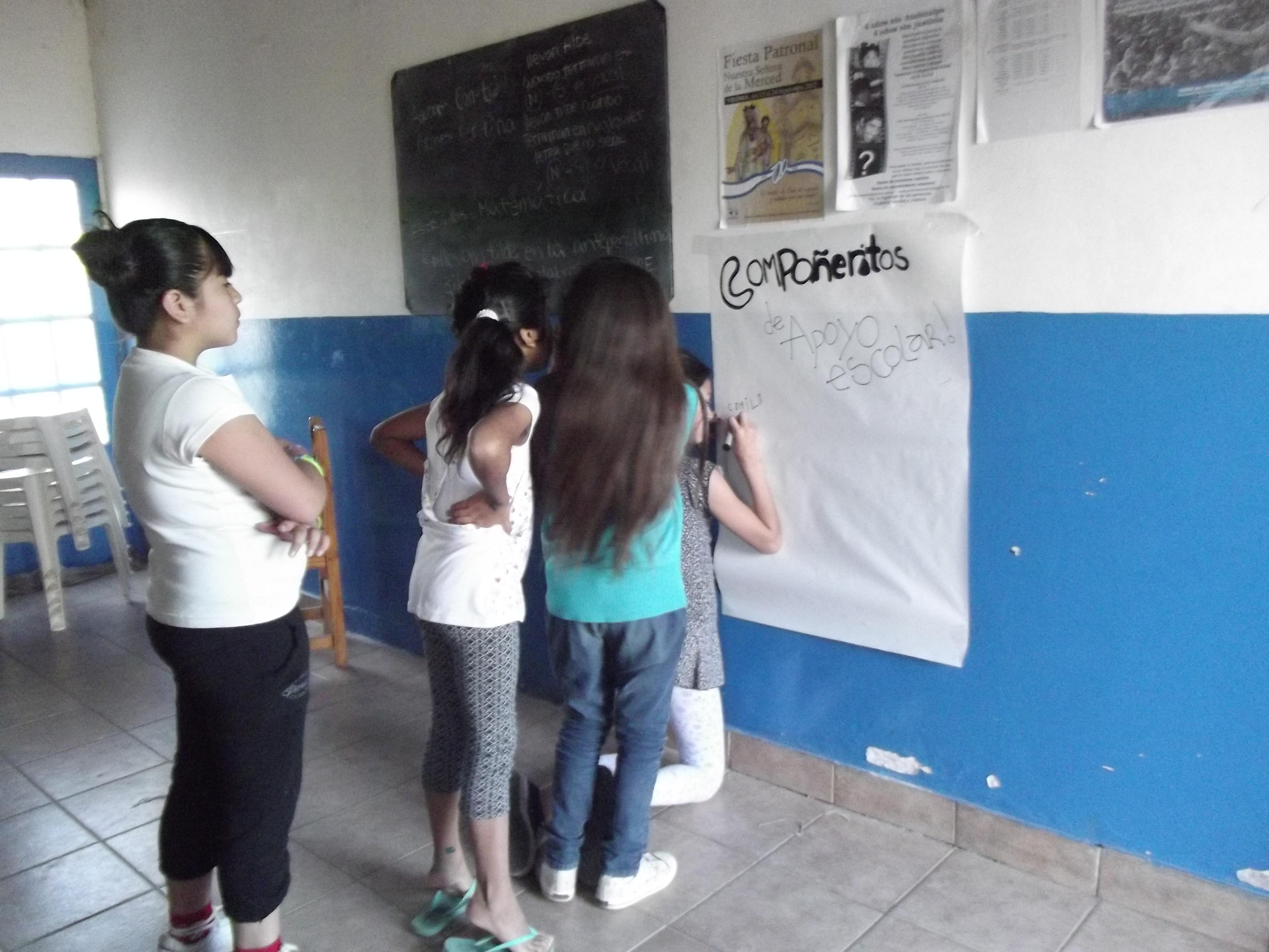 Río Negro: Apoyo escolar en Viedma