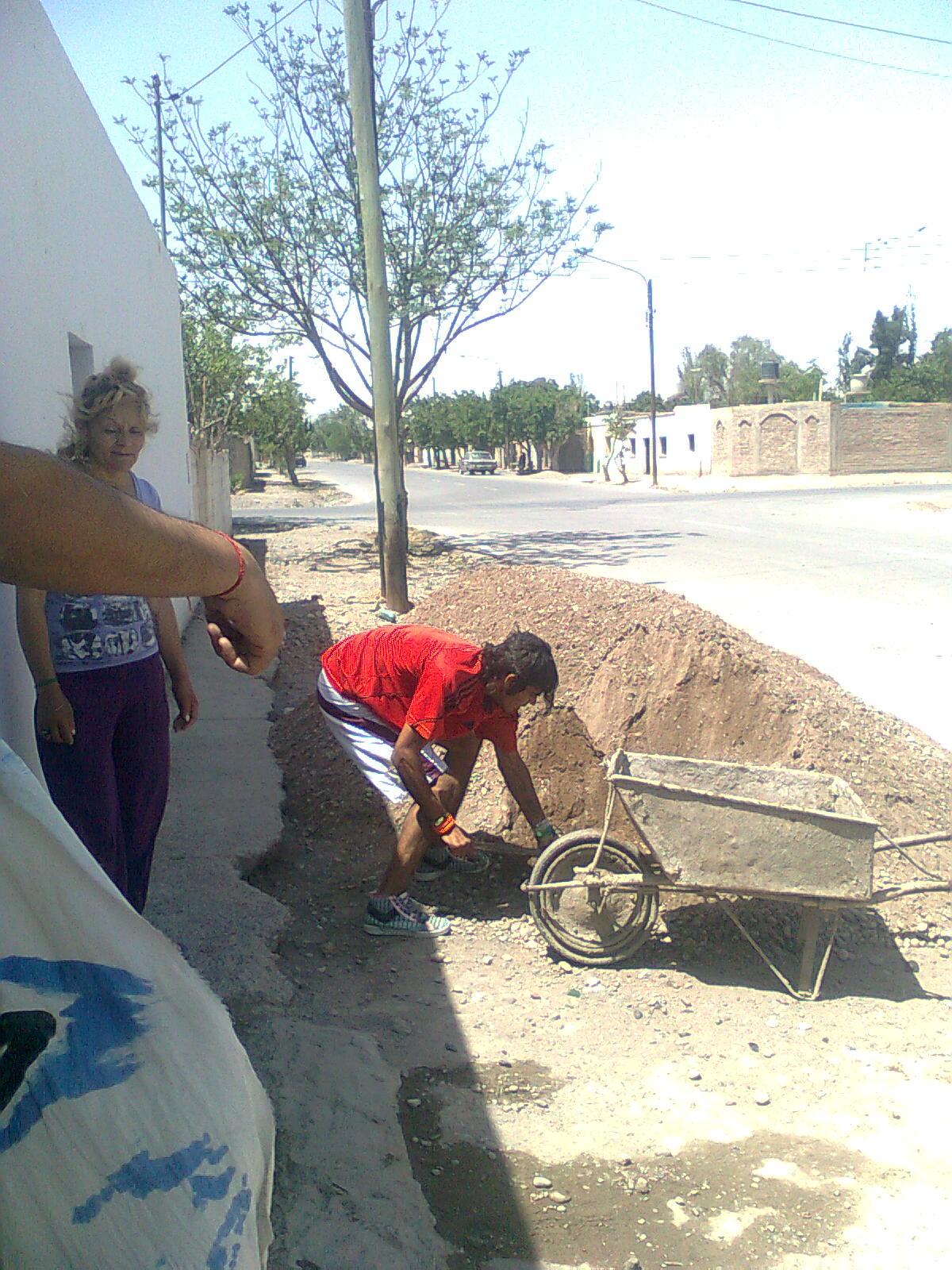 San Juan: Refacción de la Unión Vecinal de Villa Unión