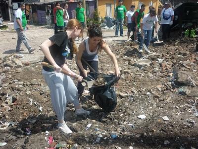 Recolección de residuos en Lanús