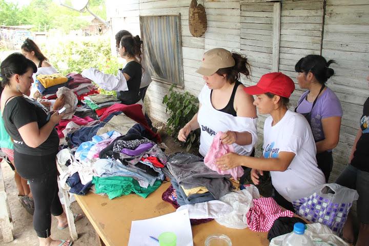 Clasificación de donaciones en Luján