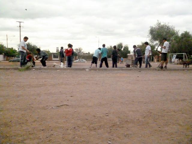 Mendoza: Un lugar más recuperado. Un baldío menos en La Favorita