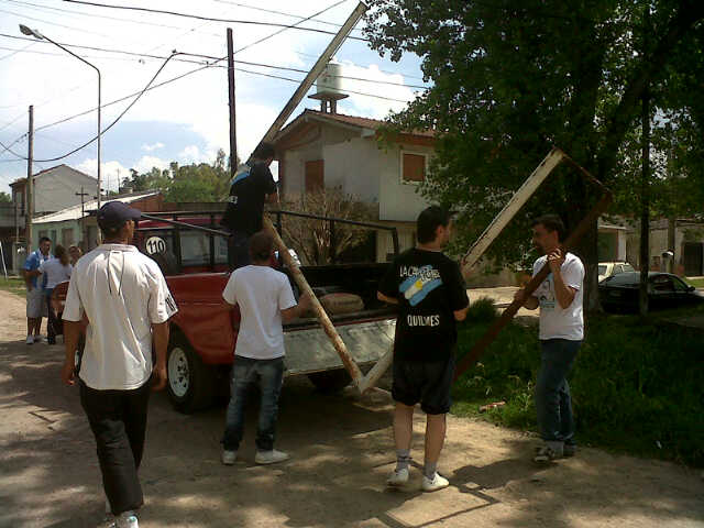 Recuperación de espacio verde en Bernal, Quilmes