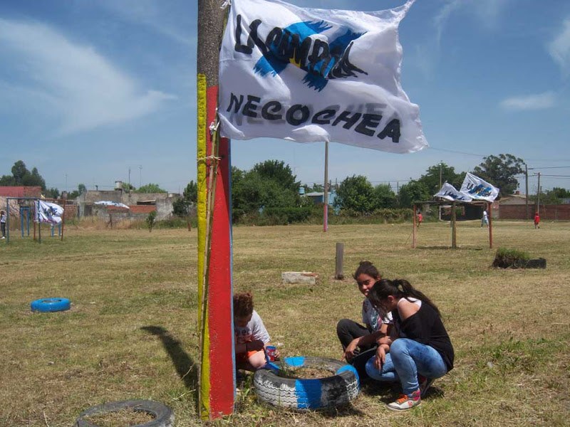 Militancia y solidaridad en Necochea