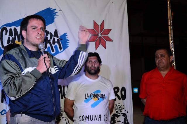 """Inauguración de la Unidad Básica """"Antonio El Gaucho Rivero"""" en la comuna 15"""