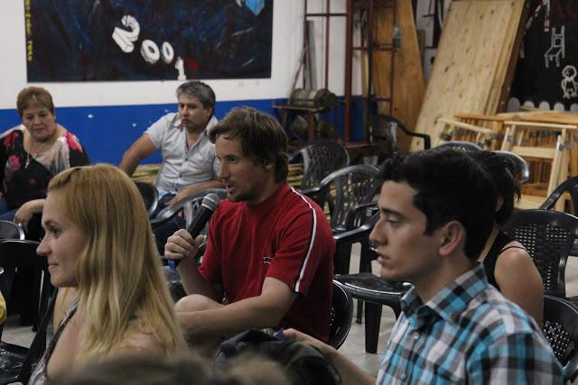 """Cine Debate con Mariano Recalde: """"Industria Argentina, la fábrica es para lo que trabajan"""""""
