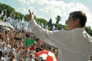Premio Rodolfo Walsh2012- Rafael Correa. LP (2)
