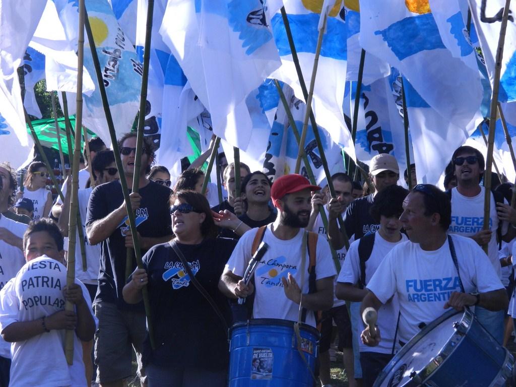 Libertad, Igualdad y Solidaridad. Fiesta Patria en Tandil