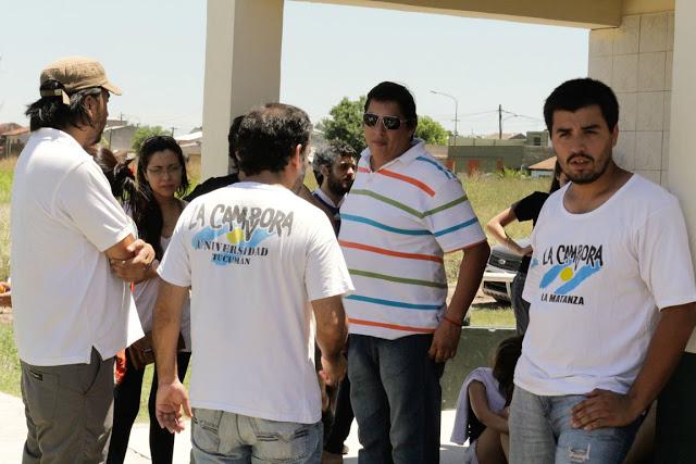 Recorriendo Villa Palito junto a la juventud latinoamericana